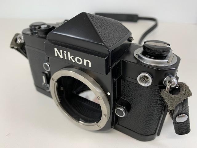 Nikon ニコン F2 アイレベル BLACK ブラック ボディ ケース付き_画像2