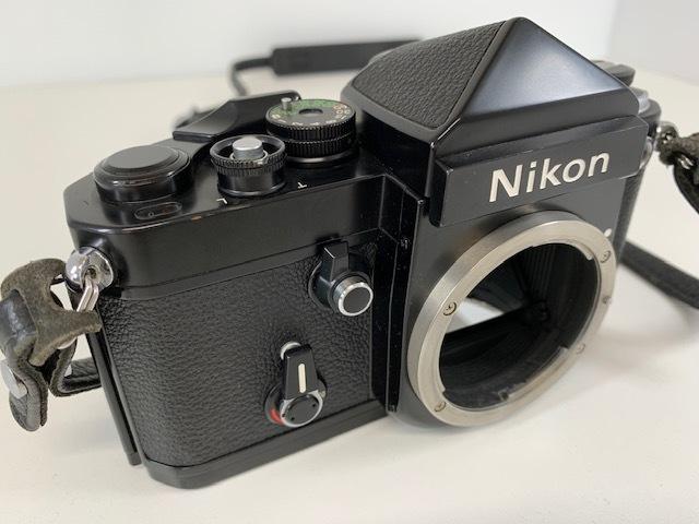 Nikon ニコン F2 アイレベル BLACK ブラック ボディ ケース付き_画像3