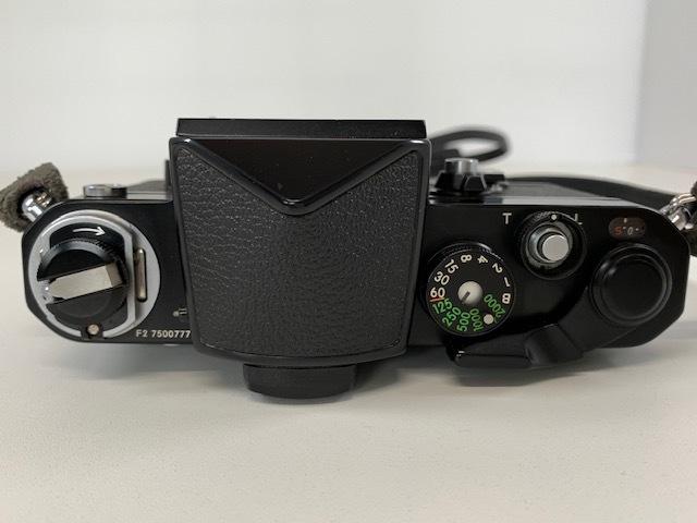Nikon ニコン F2 アイレベル BLACK ブラック ボディ ケース付き_画像4