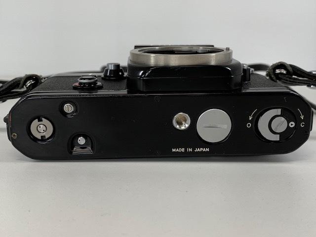 Nikon ニコン F2 アイレベル BLACK ブラック ボディ ケース付き_画像5