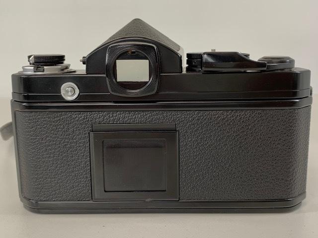Nikon ニコン F2 アイレベル BLACK ブラック ボディ ケース付き_画像6