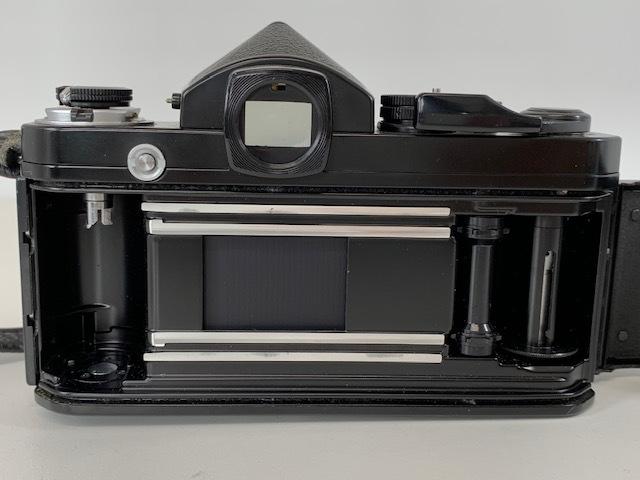 Nikon ニコン F2 アイレベル BLACK ブラック ボディ ケース付き_画像7