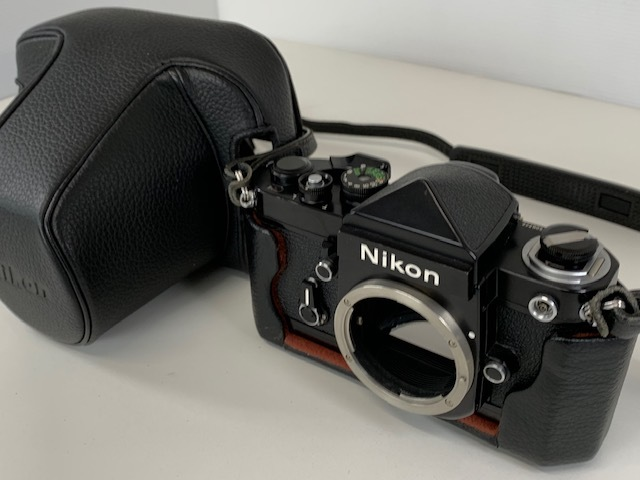 Nikon ニコン F2 アイレベル BLACK ブラック ボディ ケース付き_画像9