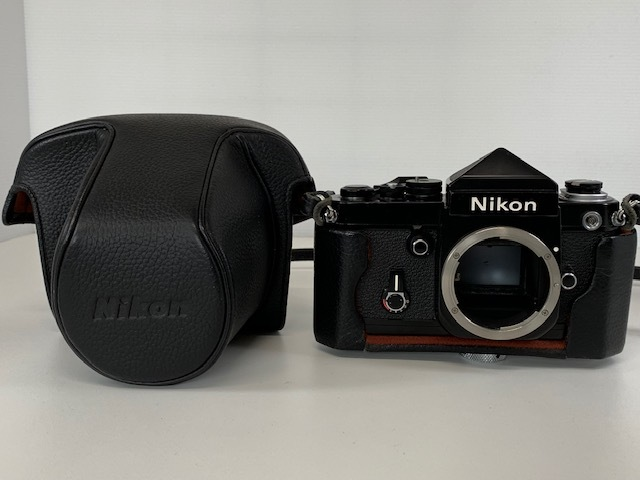 Nikon ニコン F2 アイレベル BLACK ブラック ボディ ケース付き_画像10