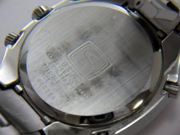 1円 SEIKO/セイコー「S」 サス 7T32-5A50 QZ 動作品 (FF 110)_画像5