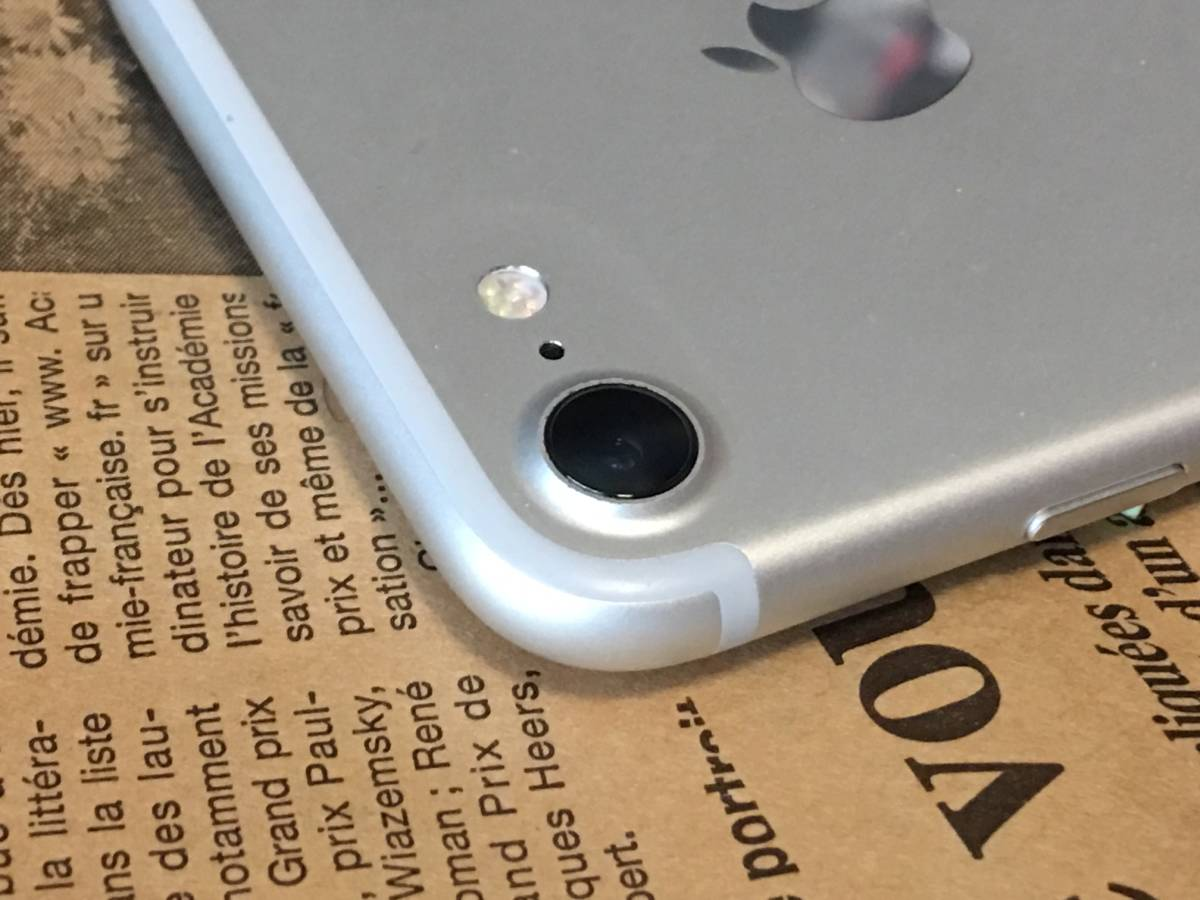 ソフトバンク SIMロック解除済み iPhone 7 32GB シルバー バージョン12.3.1 美品ですがバッテリー50% 管理番号 1129_画像6