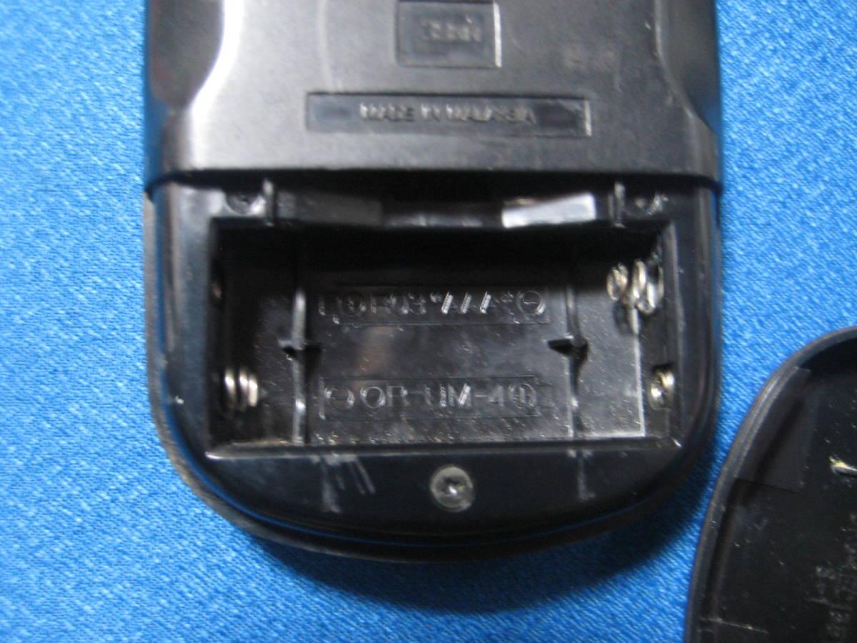 1858★Victor ビクター HR-A3 PQ21606 ビデオリモコン★赤外線発光確認済!保証_画像3