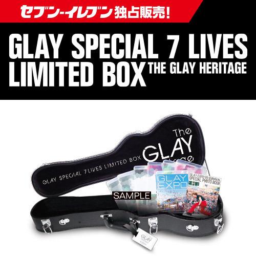 【新品未開封】 GLAY SPECIAL 7 LIVES LIMITED BOX THE GLAY HERITAGE 【セブン-イレブン・セブンネット限定】 Blu-ray Disc
