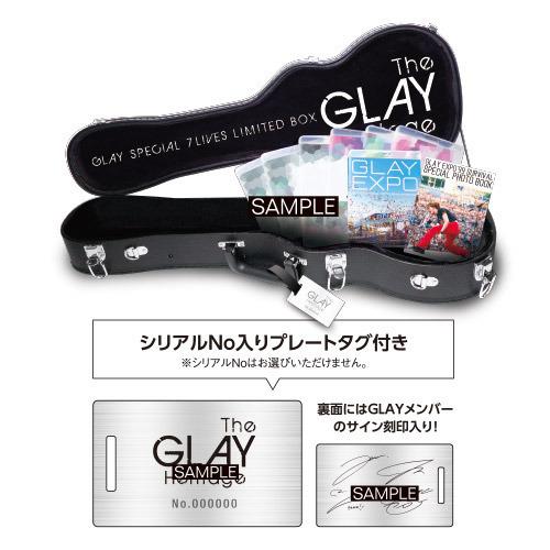 【新品未開封】 GLAY SPECIAL 7 LIVES LIMITED BOX THE GLAY HERITAGE 【セブン-イレブン・セブンネット限定】 Blu-ray Disc_画像2
