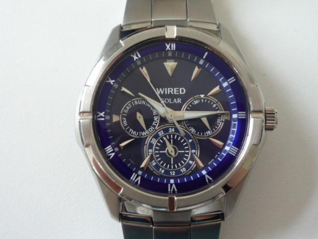 ◆◇SEIKO セイコー ワイアード WIRED【V14J-OBV1】 ソーラー腕時計 稼動品◇◆_画像2
