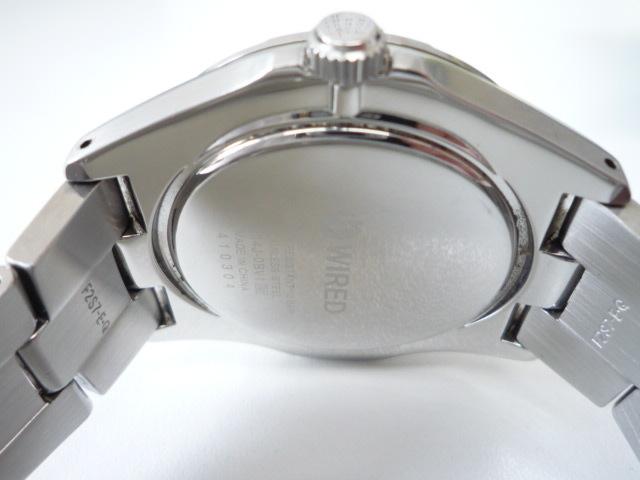 ◆◇SEIKO セイコー ワイアード WIRED【V14J-OBV1】 ソーラー腕時計 稼動品◇◆_画像7