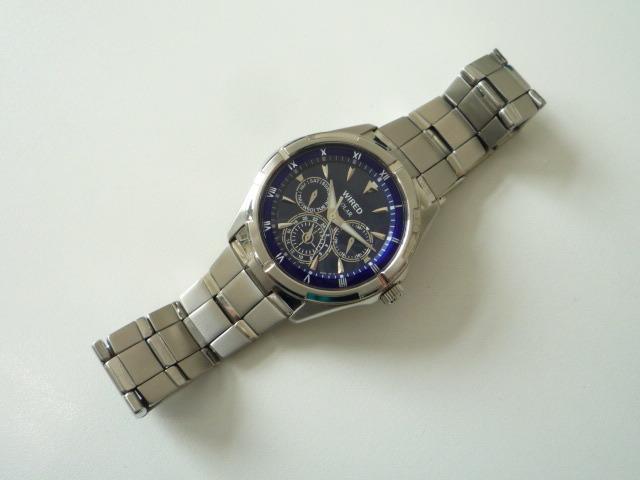 ◆◇SEIKO セイコー ワイアード WIRED【V14J-OBV1】 ソーラー腕時計 稼動品◇◆_画像3