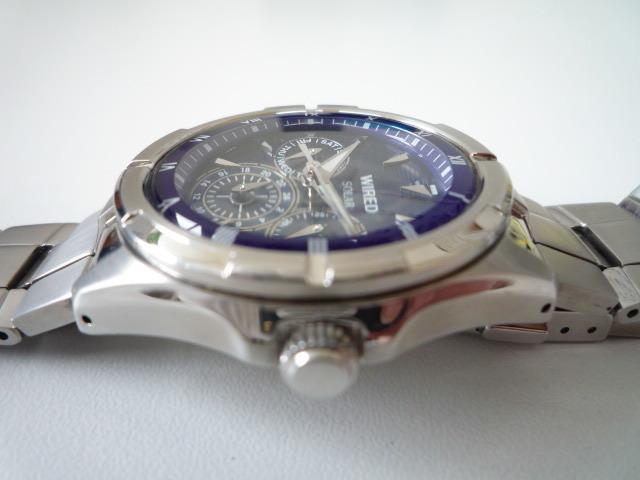 ◆◇SEIKO セイコー ワイアード WIRED【V14J-OBV1】 ソーラー腕時計 稼動品◇◆_画像4