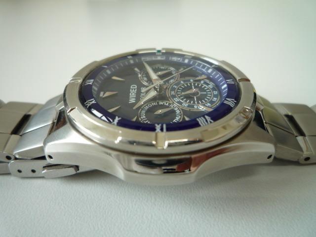 ◆◇SEIKO セイコー ワイアード WIRED【V14J-OBV1】 ソーラー腕時計 稼動品◇◆_画像5