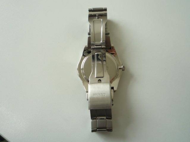 ◆◇SEIKO セイコー ワイアード WIRED【V14J-OBV1】 ソーラー腕時計 稼動品◇◆_画像8