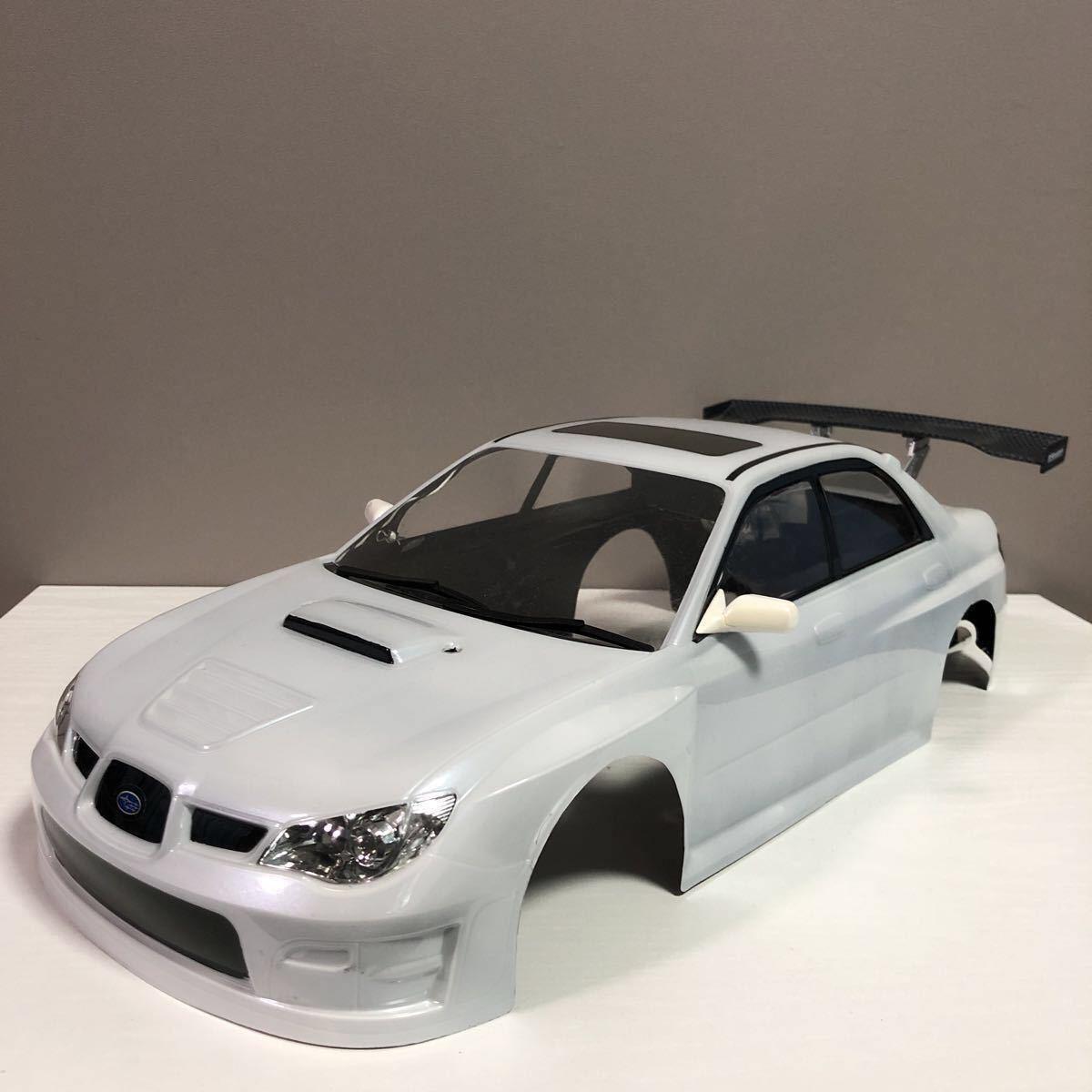 売切!1円スタート!タミヤ 1/10 電動RC ボディセット スバル インプレッサ WRC 塗装済 ジャンク 社外ウイング ライトユニット付