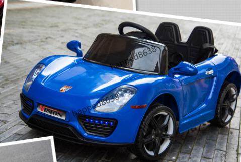 超人気☆乗用玩具 4輪 充電式電動ラジコンカー 個性 アウトドア 多機能 衝撃吸収 リモコンカー スポーツカー 子供用1-6歳 ブルーcc002-3_画像4