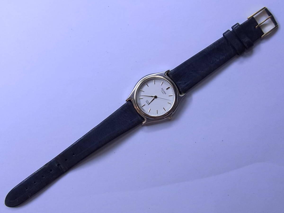 100円~良品 CITIZENシチズン EXCEEDエクシード メンズ クォーツウォッチ 腕時計_画像2