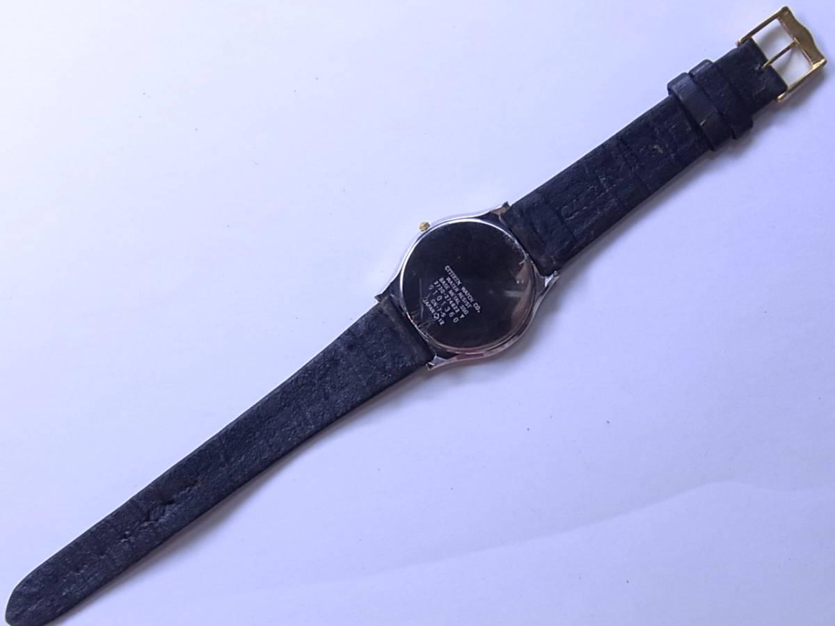 100円~良品 CITIZENシチズン EXCEEDエクシード メンズ クォーツウォッチ 腕時計_画像3