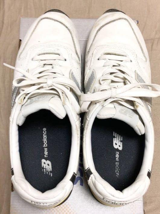 ニューバランス Newbalance 996 白 ホワイト 使用少な目 革製26cm _画像2