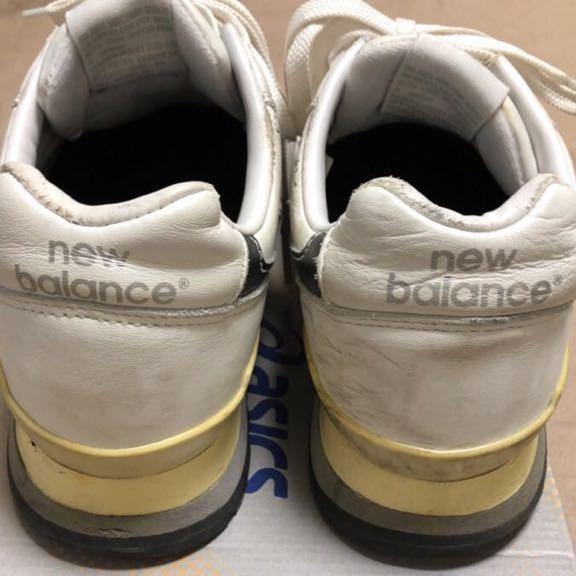 ニューバランス Newbalance 996 白 ホワイト 使用少な目 革製26cm _画像3