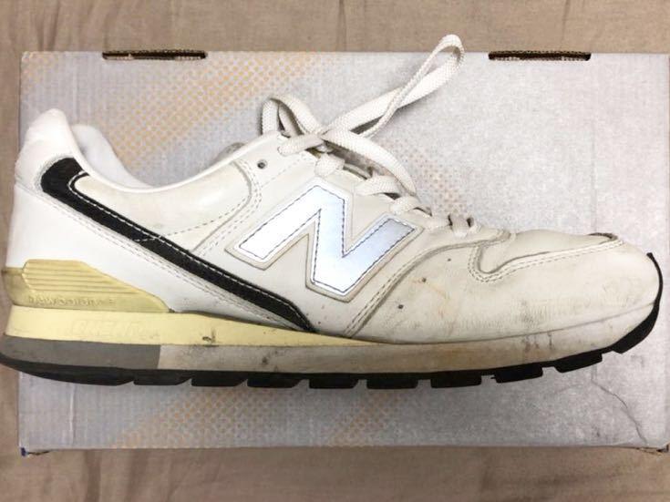 ニューバランス Newbalance 996 白 ホワイト 使用少な目 革製26cm _画像5