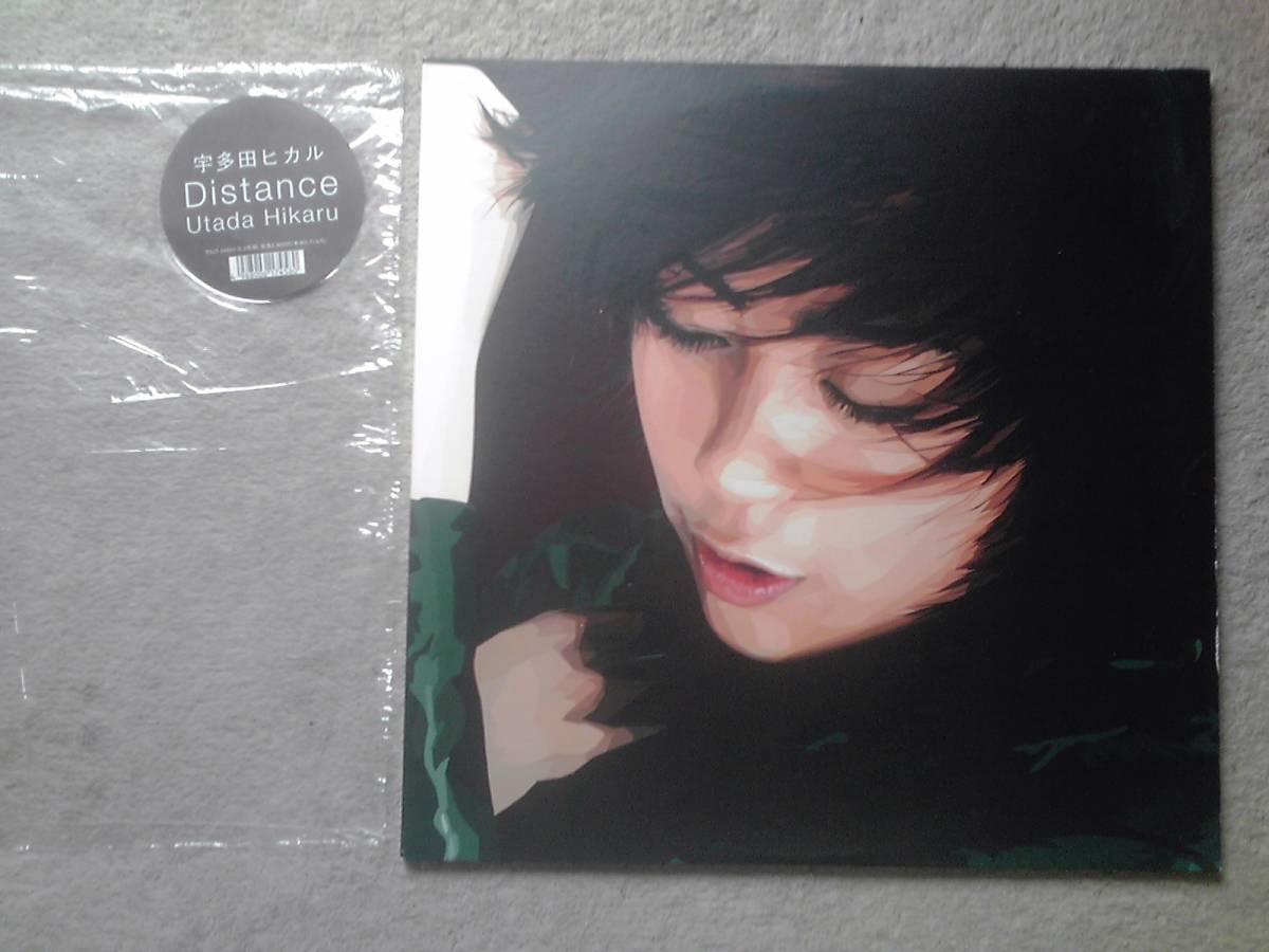 #LPポップス堂/『Distance』/宇多田ヒカル 2枚組み_画像2