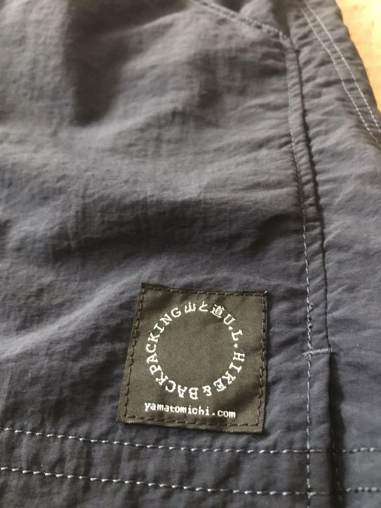山と道 5ポケットショーツ ネイビー XSサイズ 現行Sサイズ 5 pockets shorts U.L.HIKE&BACKPACKING_画像3