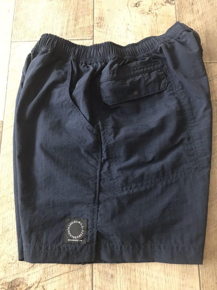 山と道 5ポケットショーツ ネイビー XSサイズ 現行Sサイズ 5 pockets shorts U.L.HIKE&BACKPACKING_画像5