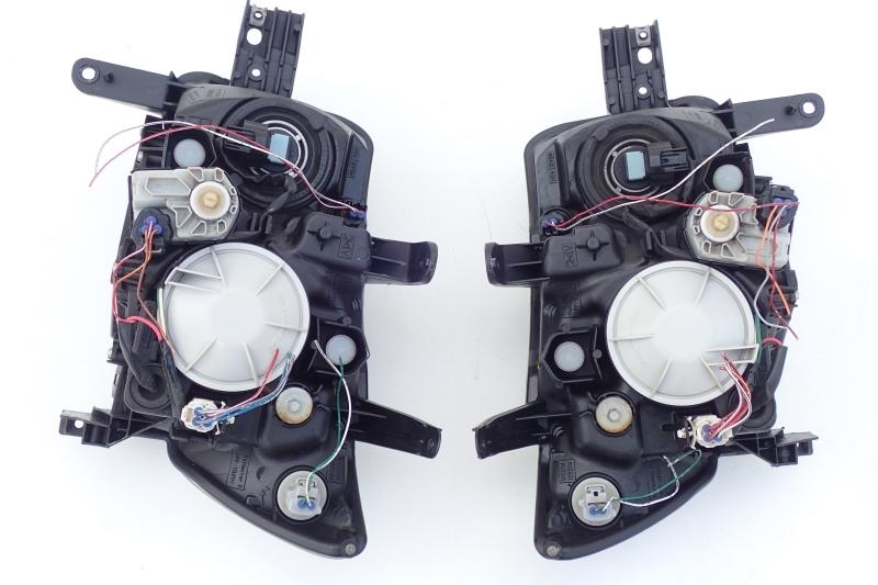bB QNC20 QNC21 QNC25 純正 HID ヘッドライト 左右セット B1-2 即決あり_画像6