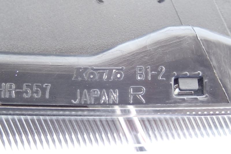 bB QNC20 QNC21 QNC25 純正 HID ヘッドライト 左右セット B1-2 即決あり_画像7