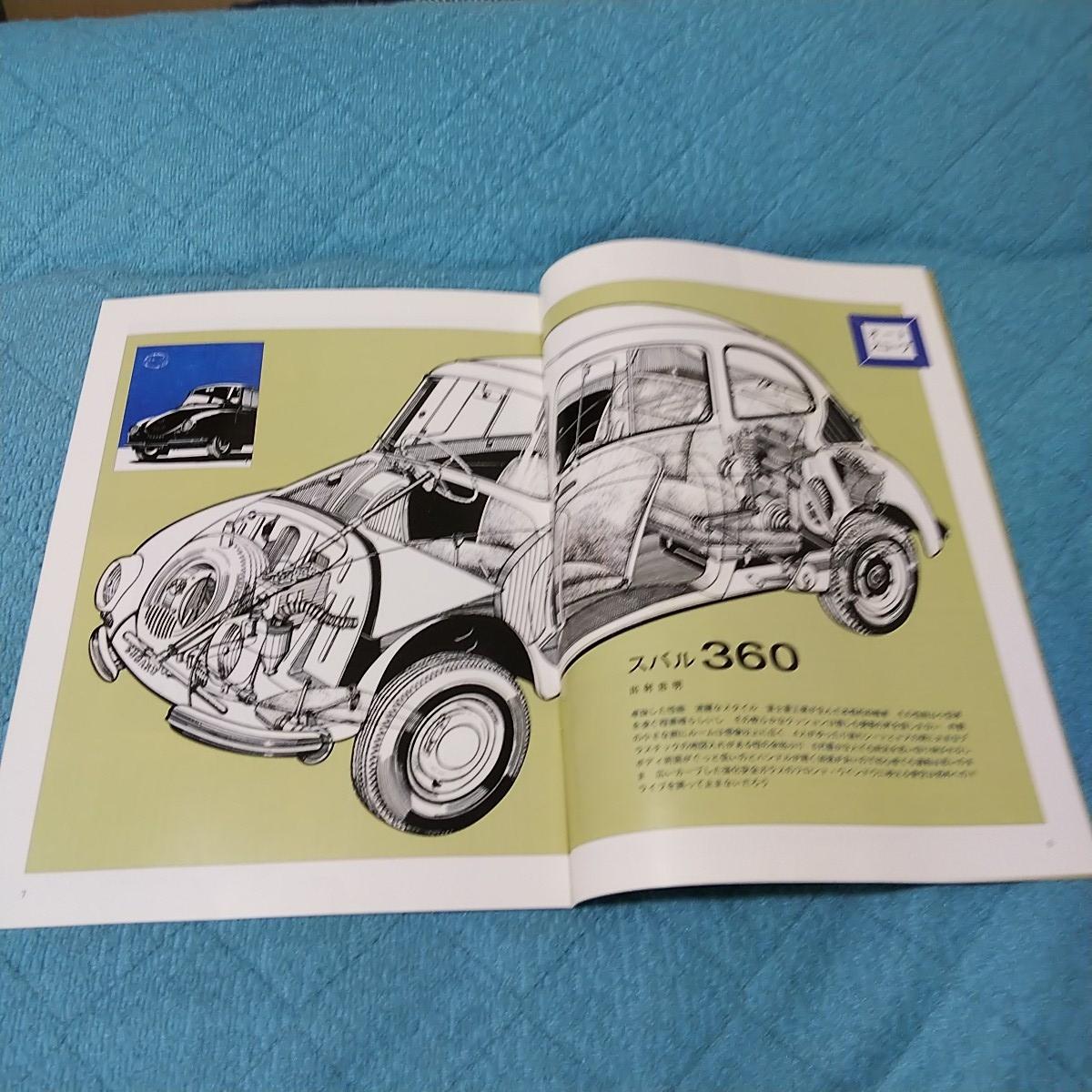 車雑誌 スバル360のすべて モーターファン別冊 特別付録 _画像2