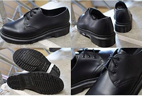 ★新品★ドクターマーチン Dr.Martens 希少 レア 1461 MONO 3ホール ブラック シューズ UK8 27.0cm BLACK★_画像2
