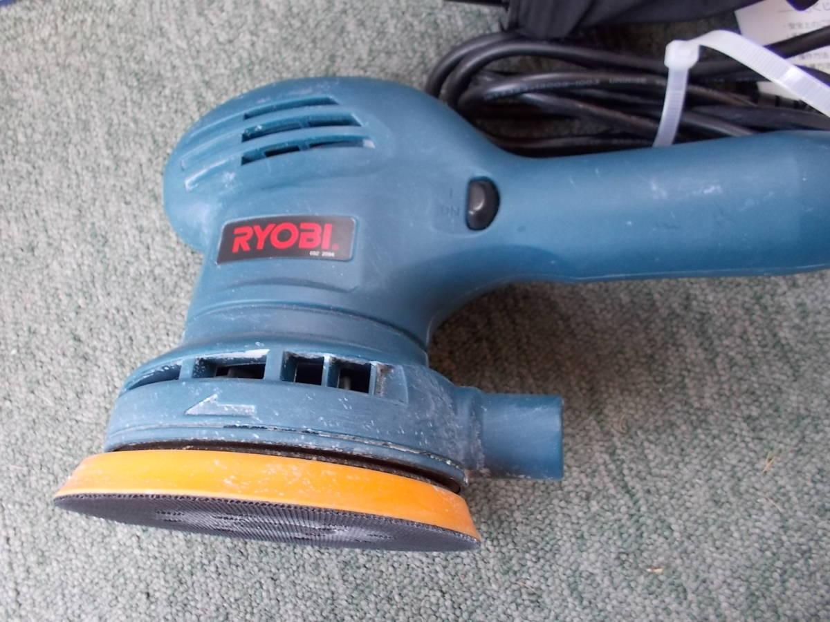 リョービ(RYOBI) サンダポリシャ RSE-1250 226×123×151mm 使用少ない中古_画像2
