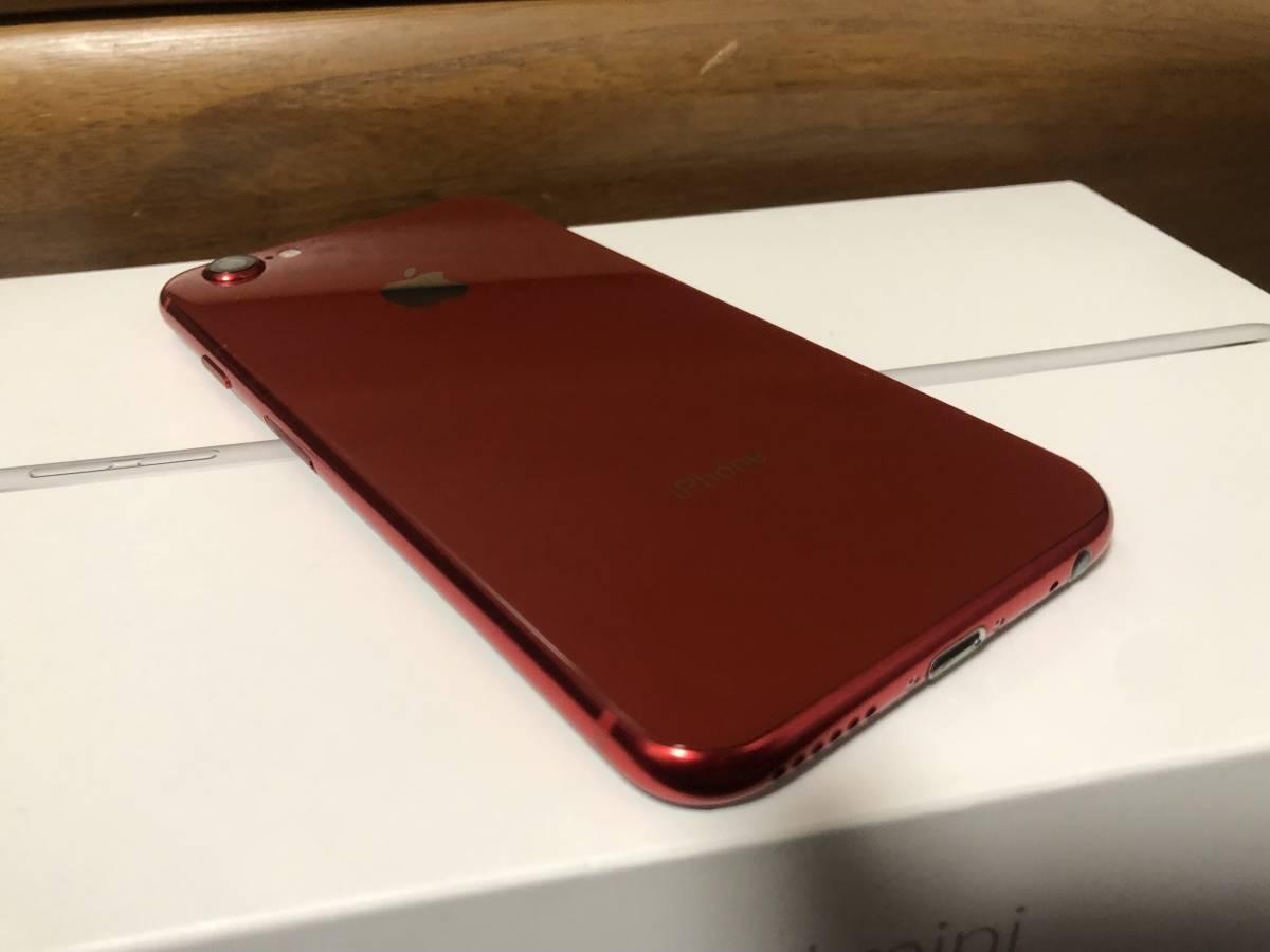 【外装新品】au iPhone6S 16GB ブラック/レッド ネットワーク利用制限〇 8風_画像8