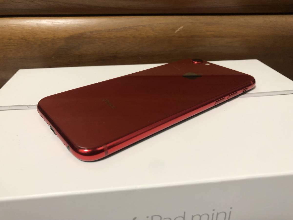 【外装新品】au iPhone6S 16GB ブラック/レッド ネットワーク利用制限〇 8風_画像5