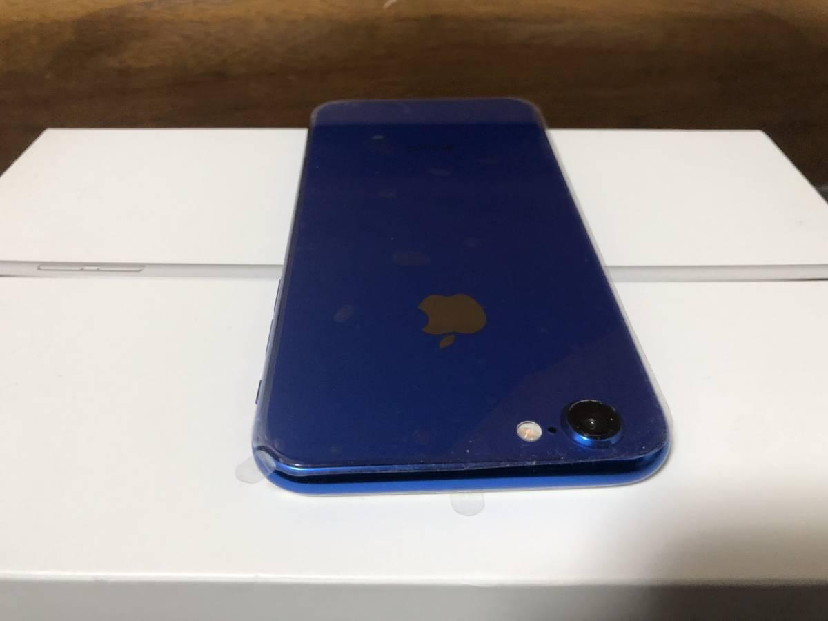 【外装新品】au iPhone6 16GB ホワイト/ブルー ネットワーク利用制限〇 8風_画像6