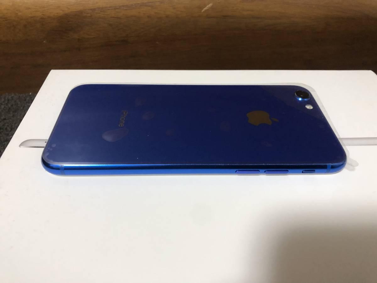 【外装新品】au iPhone6 16GB ホワイト/ブルー ネットワーク利用制限〇 8風_画像7