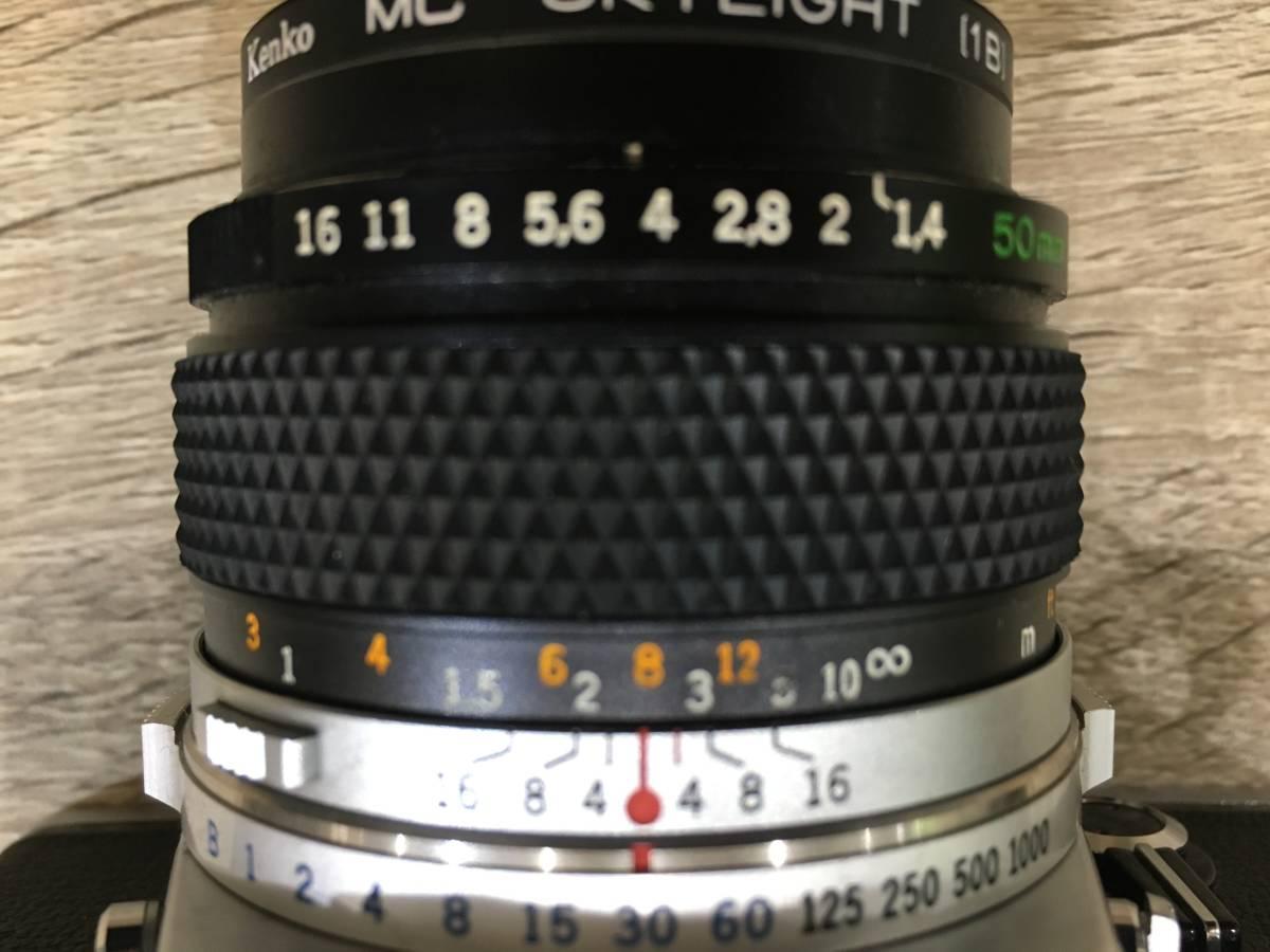 2497 オリンパス OLYMPUS OM 1 AUTO S 1 1,4 f50mm フイルムカメラ レンズ_画像5