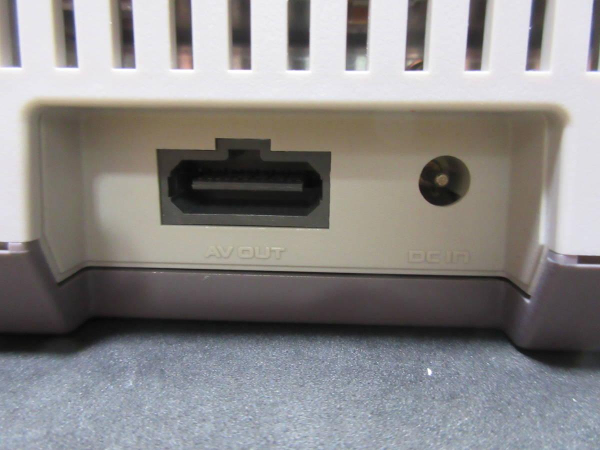 42163 Nintendo 任天堂 ファミリーコンピュータ ファミコン HVC-NFF AV仕様 ソフト付き_画像9