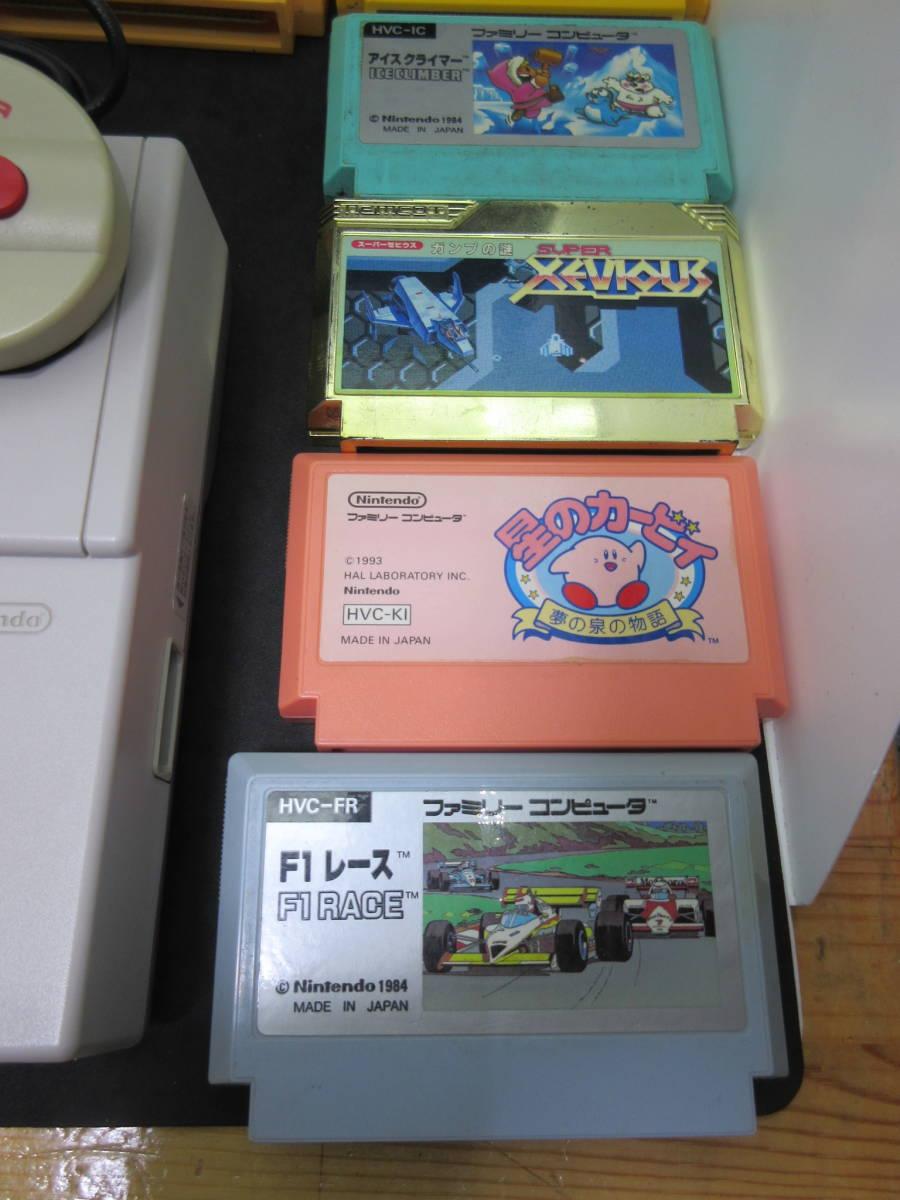 42163 Nintendo 任天堂 ファミリーコンピュータ ファミコン HVC-NFF AV仕様 ソフト付き_画像6