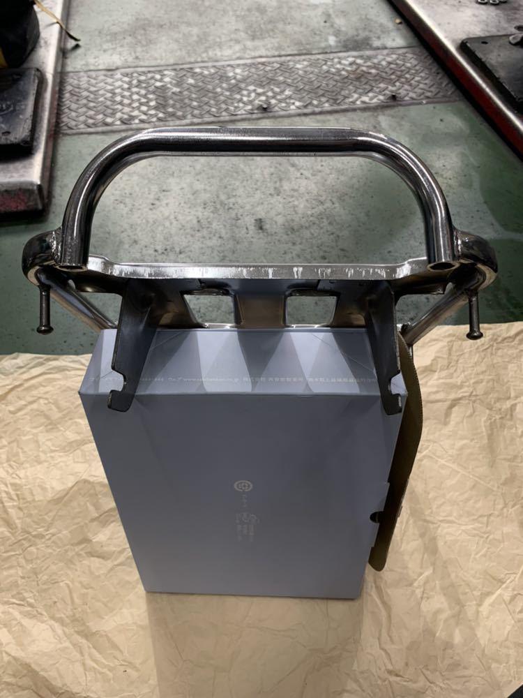 スーパーカブC50/90カスタム用 リアロングキャリア 新品未使用 海外製品_画像4