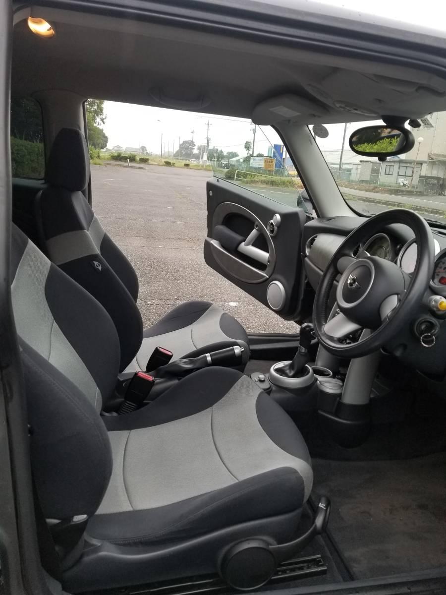 BMWmini R53 クーパーS スーパーチャージャー パドルシフト RAYS鍛造RE30 16インチ 記録簿多数 修復歴無_画像5
