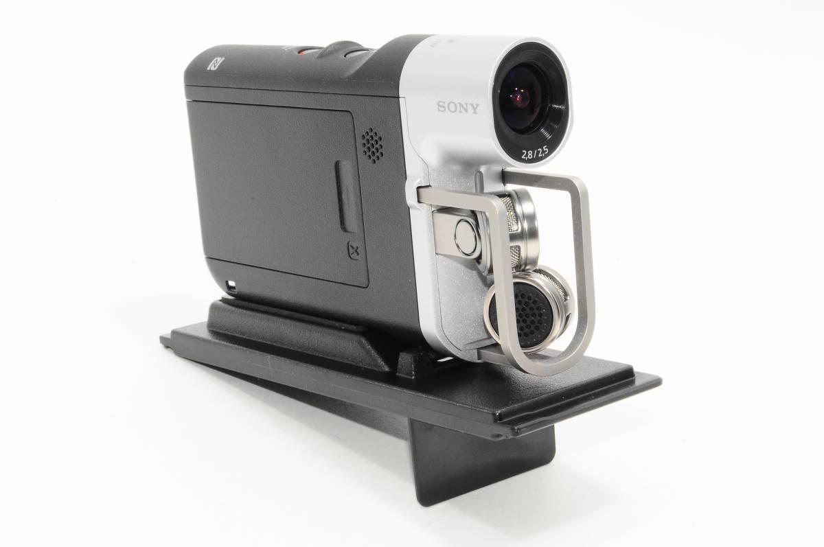 【美品・元箱・収納ケース付き】ソニー SONY ビデオカメラ HDR-MV1 高音質 ブラック ミュージックビデオレコーダー HDR-MV1 306_画像3