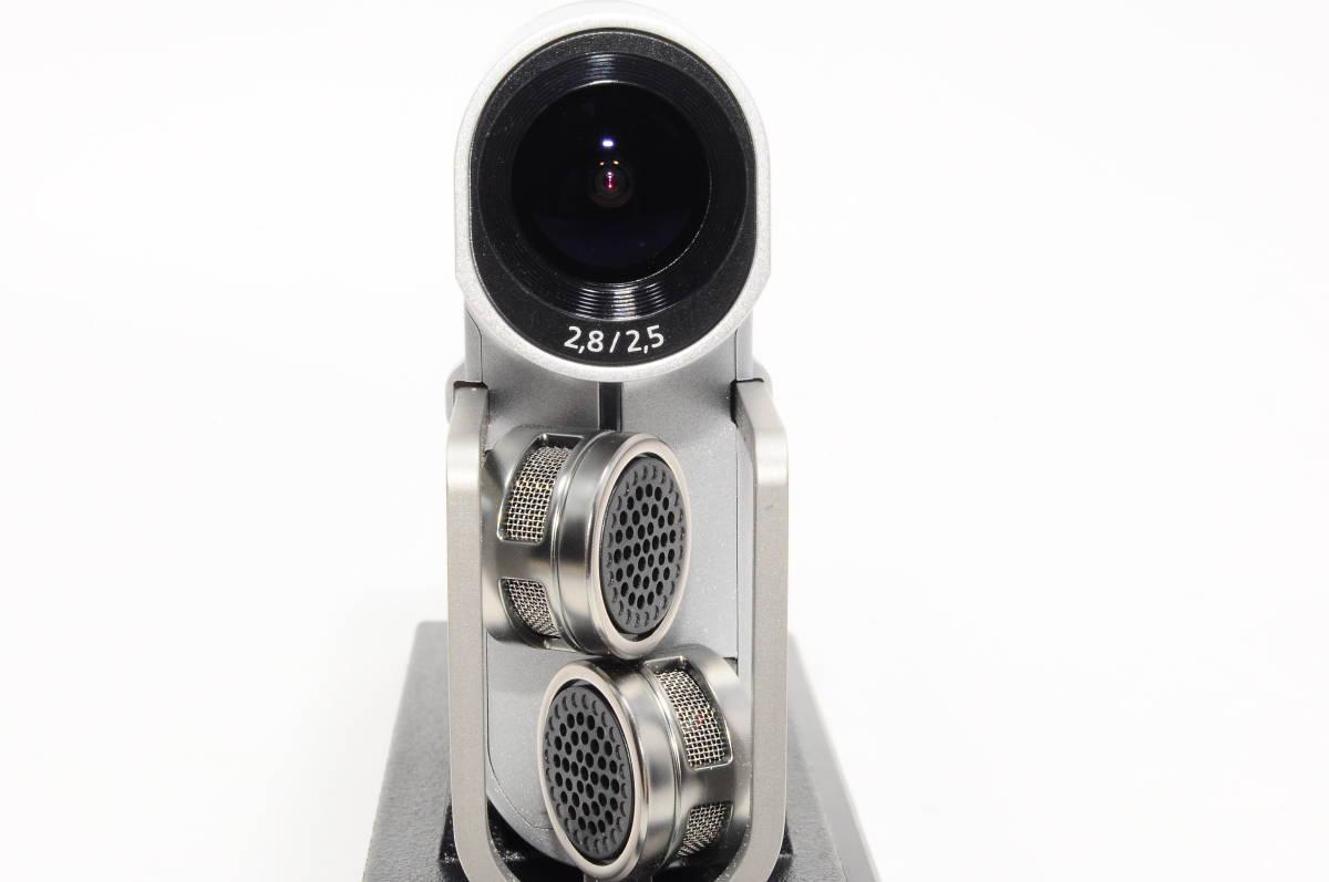 【美品・元箱・収納ケース付き】ソニー SONY ビデオカメラ HDR-MV1 高音質 ブラック ミュージックビデオレコーダー HDR-MV1 306_画像7