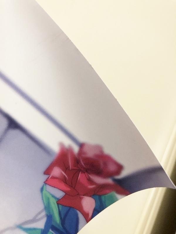 064H881★東方Project 献血×博麗神社秋季例大祭 ポスター フランドール スカーレット べにしゃけ 2015年 非売品★中古品_画像3