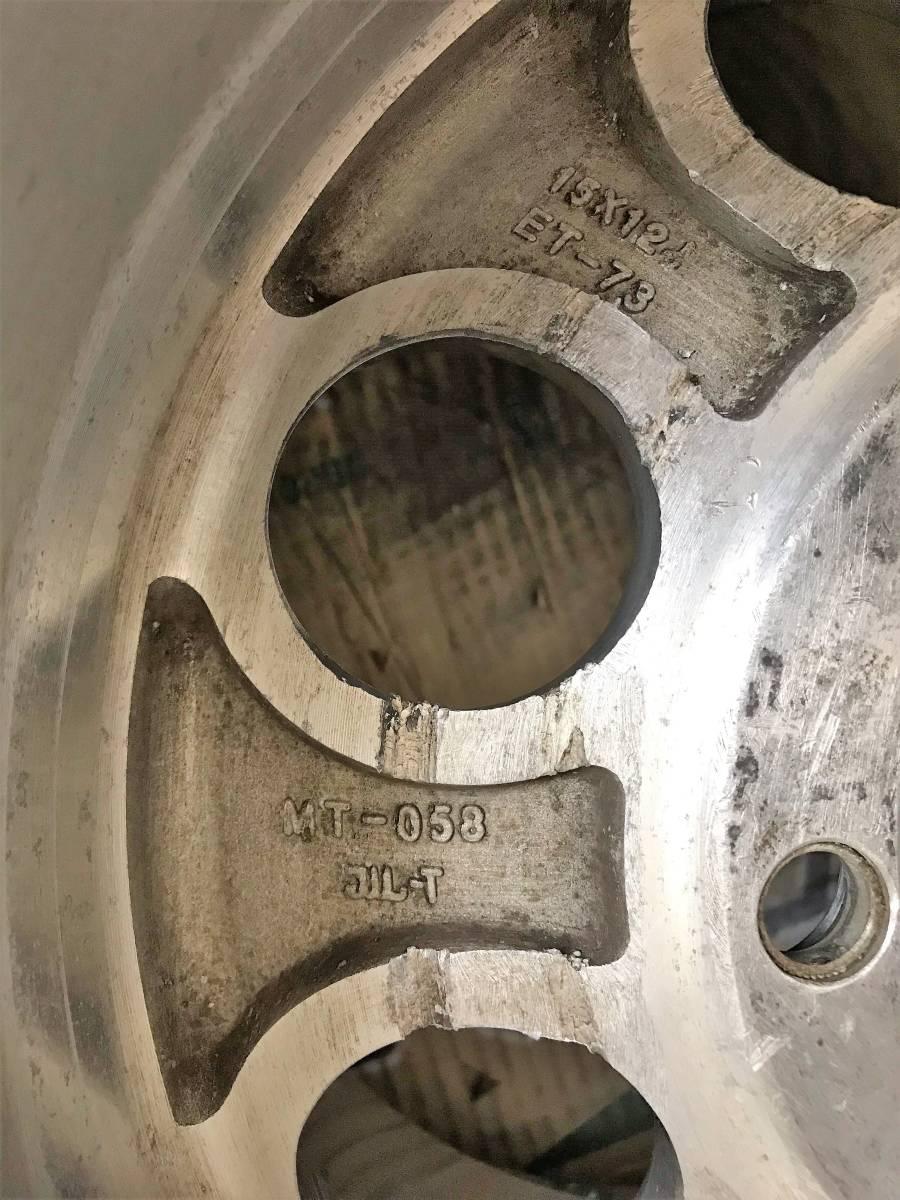 超極太15×12j-73 ミッキートンプソン ランクルプラドサバーバンタホシボレーハイラックスグッドリッチホワイトレター_画像6