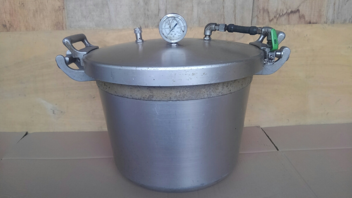 t3337、圧力鍋、両手鍋、調理器具、動作未