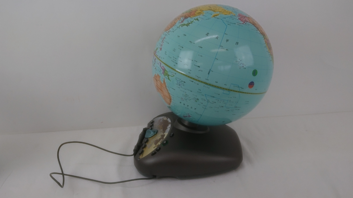 学研ステイフル NEW ワールドグローブ (日本語表記版) しゃべる地球儀 _画像3