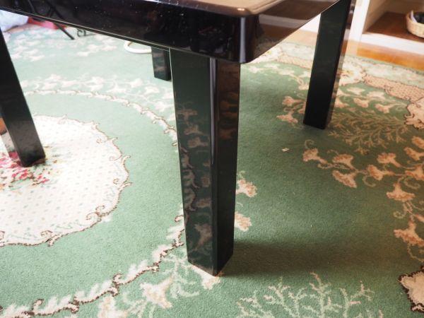 ☆漆塗 テーブル ☆桜 ☆漆 ☆小さめのテーブル ☆綺麗な桜の花びら模様_画像4